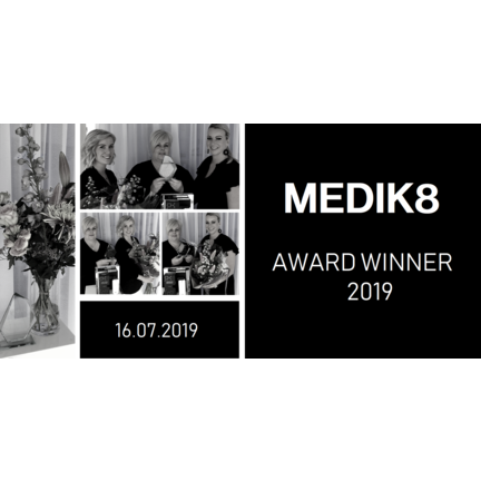 Wij zijn de Medik8 Award Winner - beste Medik8 salon Benelux 2019