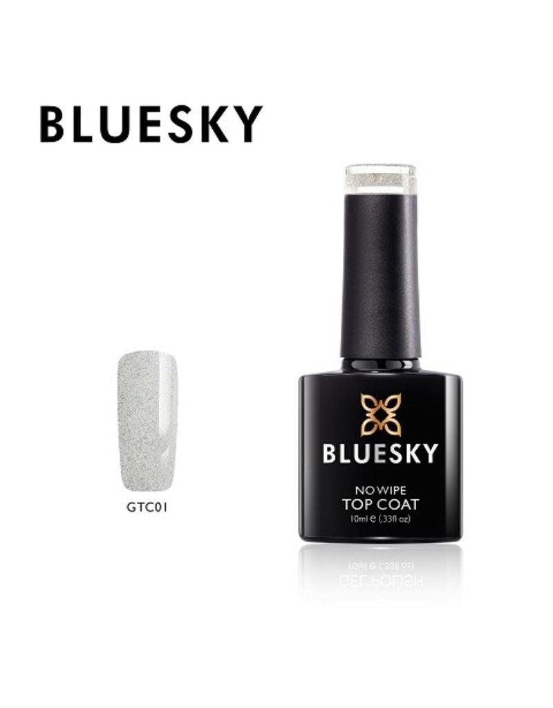 Bluesky Top Coat Glitter GTC01