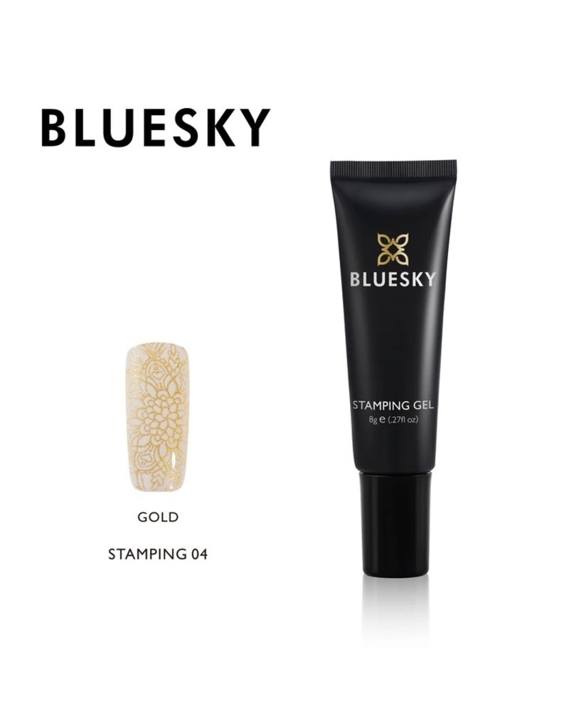 Bluesky Bluesky Stamping Gel 04 Goud
