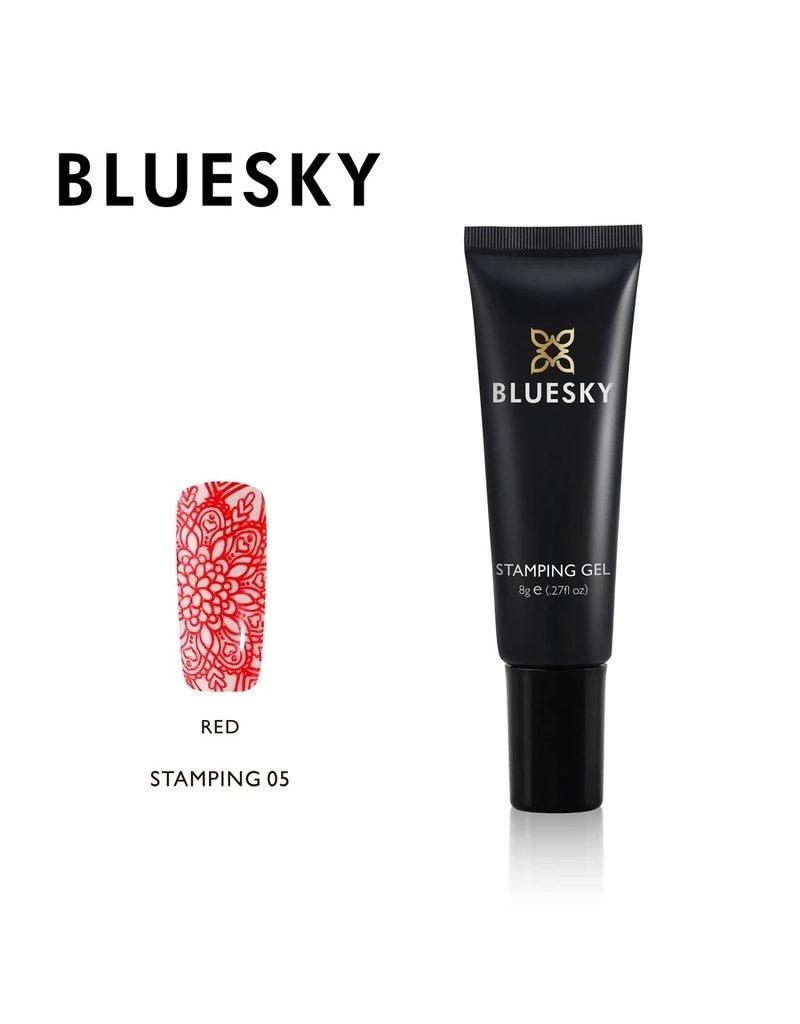 Bluesky Bluesky Stamping Gel 05 Rood