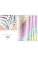 5 kleuren Striping