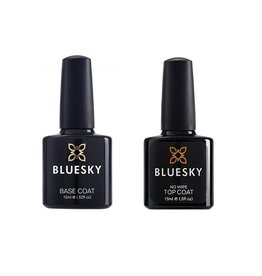 Bluesky Base Coat & Top Coat No Wipe 15ml