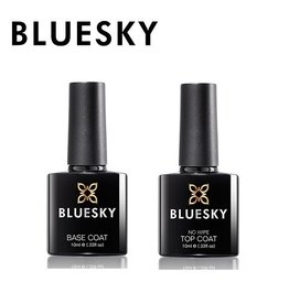 Bluesky Base Coat + Top Coat No Wipe