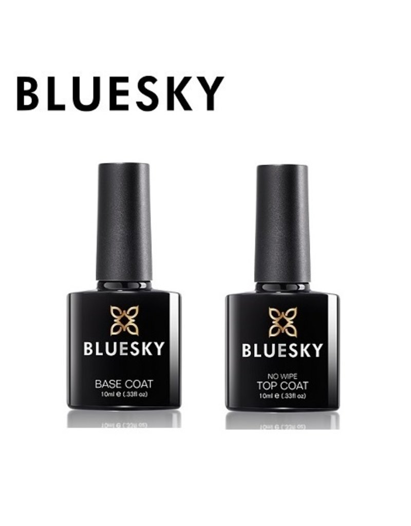 Bluesky Base Coat + Top Coat No Wipe