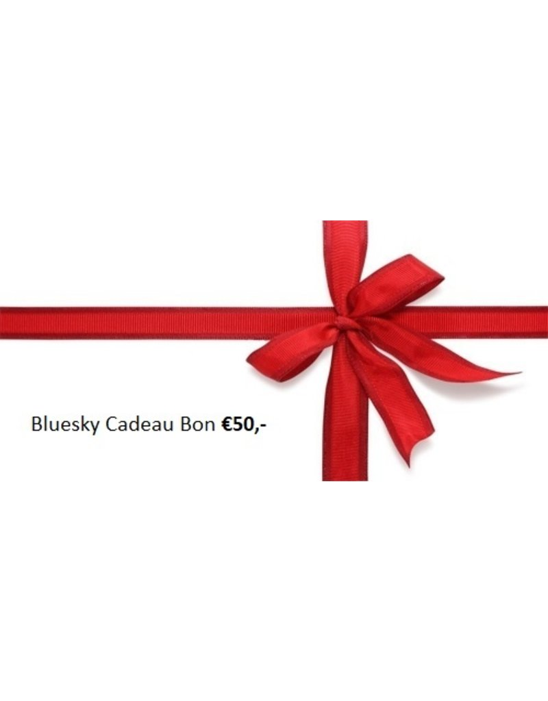 Bluesky Bluesky Cadeau Bon €50,-