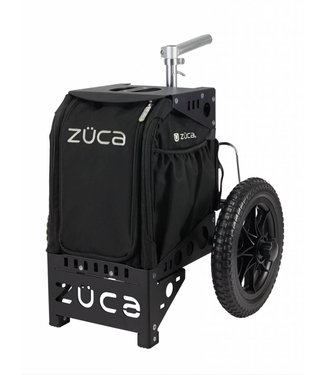 ZÜCA Compact Disc Golf Cart/Black
