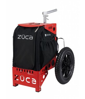 ZÜCA Compact Disc Golf Cart/Rood