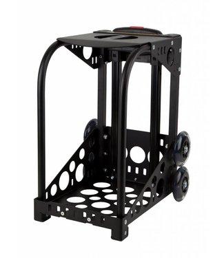 ZÜCA Cadre Sport Noir - roues clignotantes