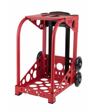 ZÜCA Cadre Sport Rouge - roues clignotantes
