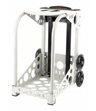 ZÜCA Cadre Sport Blanc - roues clignotantes