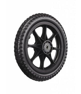 ZÜCA All-Terrain, Tubeless Foam Wheel, Black