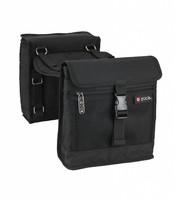Saddle Bag Set, Black