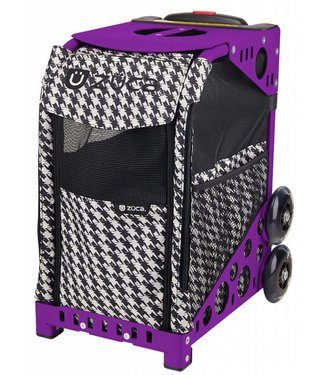 ZÜCA Pet Carrier Houndstooth Black (tas alleen)