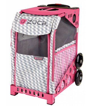 ZÜCA Pet Carrier Houndstooth Pink (Insert Only)