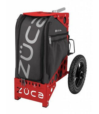 ZÜCA All-Terrain Cart, Gunmetal/Rood