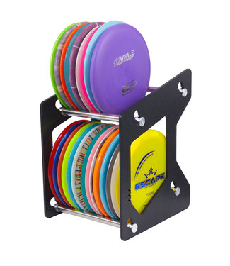 ZÜCA Disc Golf Rack, Black