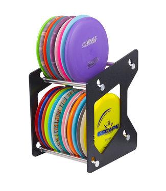 ZÜCA Disc Golf Rack, Schwarz