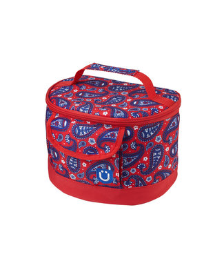 ZÜCA lunch box, Paisley in Red