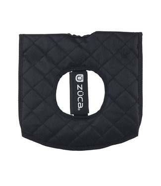 ZÜCA Compact Disc Golf Cart Seat Cushion, Black/Gray