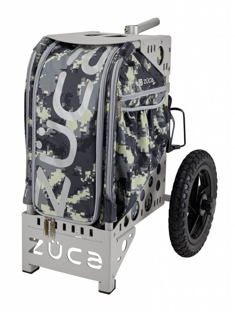 Zuca Anaconda Camouflage Sport Insert Bag with Red Frame Gift Seat Cushion