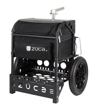 ZÜCA Chariot de disc golf transit noir / noir mat