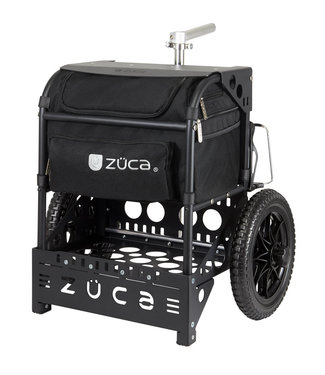 ZÜCA Transit Disc Golf Cart Black / Matte Black