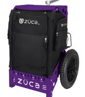 Trekker caddie disc golf noir/violet