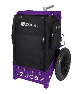 ZÜCA Trekker Disc Golf-wagen schwartz/violett