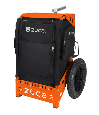 ZÜCA Trekker Disc Golf Cart Black/Orange