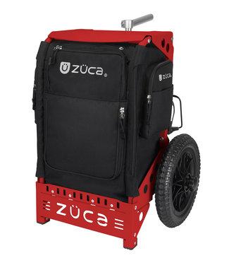 ZÜCA Trekker Disc Golf Cart Zwart/Rood