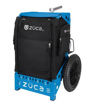 ZÜCA Trekker Disc Golf Cart Zwart/Blauw