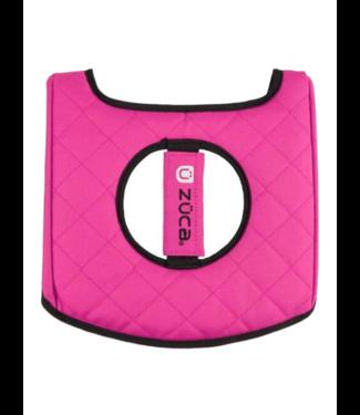ZÜCA Seat Cushion, Black/Hot Pink