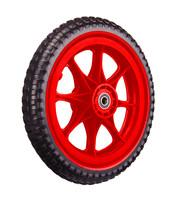 All-Terrain Tubeless Foam Wiel, rood