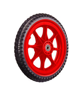 ZÜCA All-Terrain, Tubeless Foam Wheel, Red