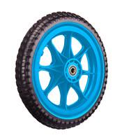 All-Terrain Tubeless Foam Wiel, Blauw