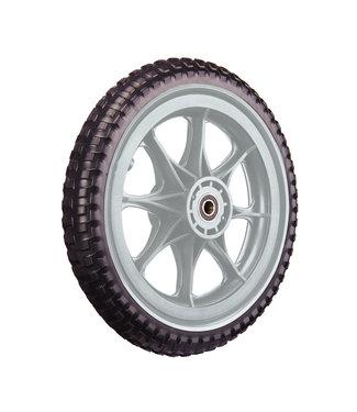 ZÜCA All-Terrain, Tubeless Foam Wheel, Silver Gray