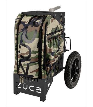 ZÜCA Camo Disc Golf Insert Bag w/accessory pouch