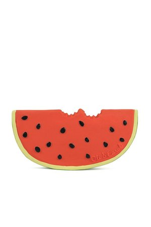 Oli & Carol Bijtspeeltje 'Wally the watermelon'
