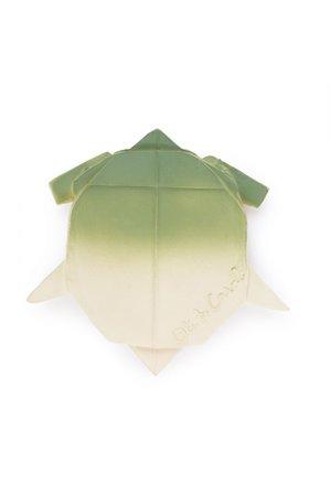 Oli & Carol Origami bad-en bijtspeeltje schildpad
