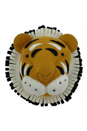 Fiona Walker England Animal head - tiger