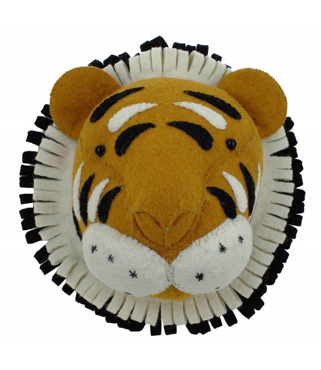 Fiona Walker England Animal head - tiger