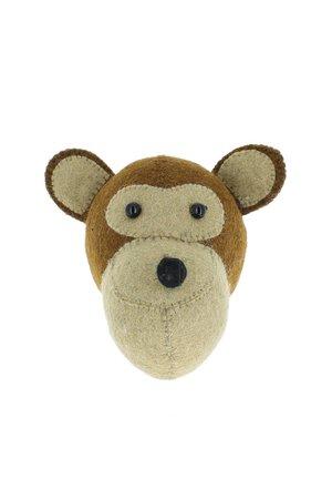 Fiona Walker England Dierenhoofd mini - aap