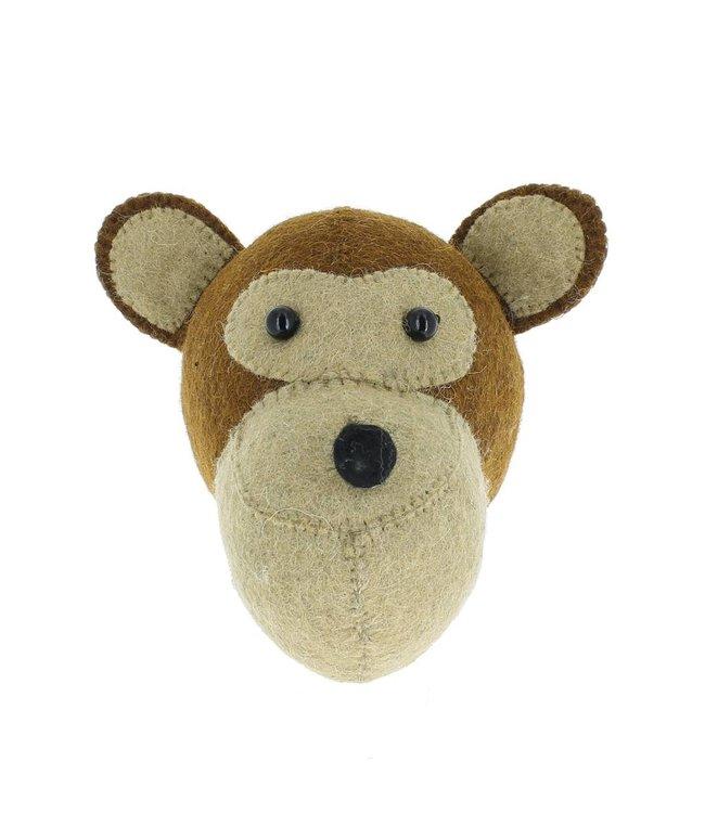 Animal head mini - monkey