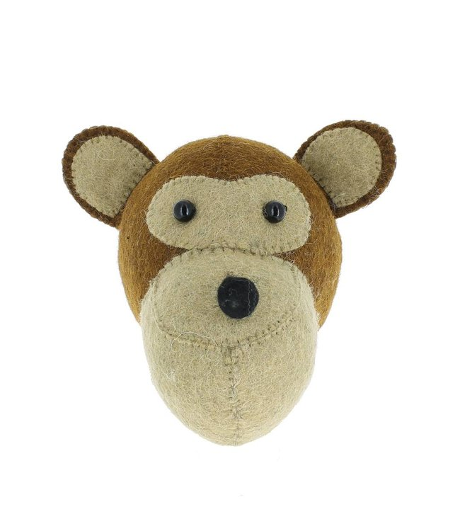 Dierenhoofd mini - aap