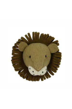 Fiona Walker England Dierenhoofd mini - leeuw