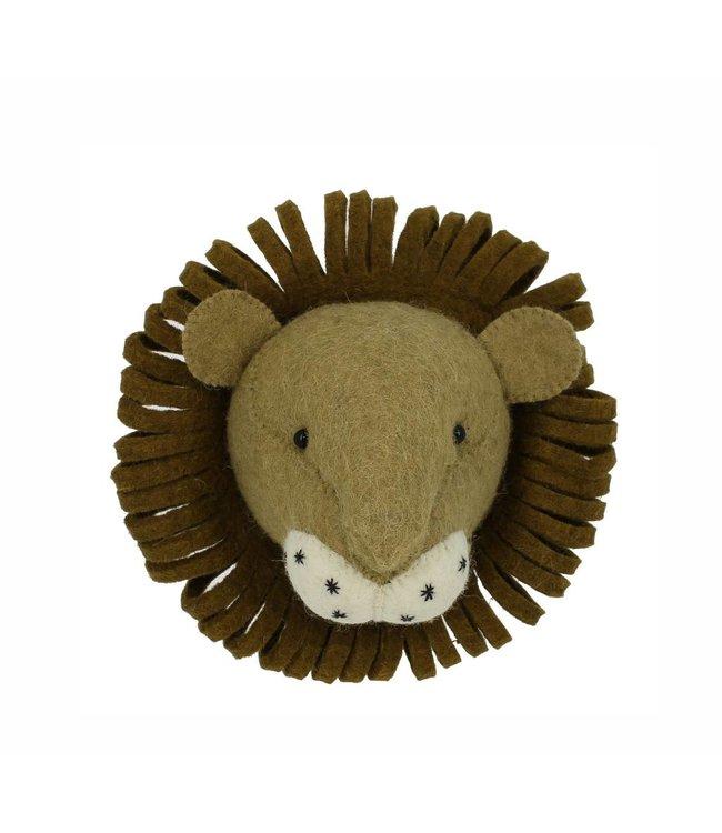 Animal head mini - lion