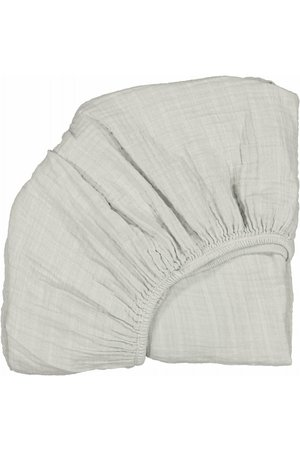 Moumout Papuche fitted sheet - almond