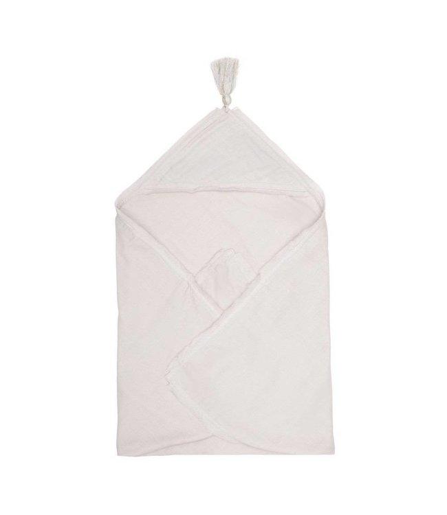 Muslin baby wrap blanket  - nimbus cloud