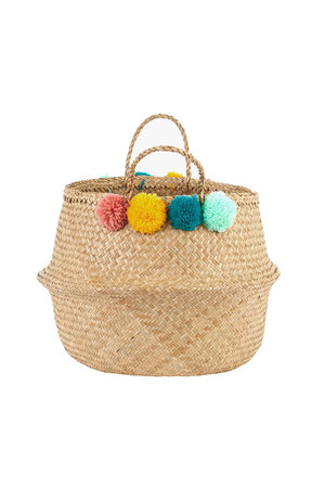 Olli Ella Belly basket - Pom Pom