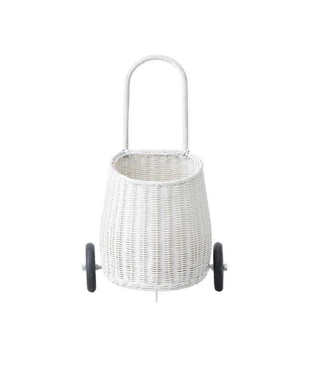 Olli Ella Luggy basket small - white